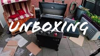 Gasgrill Enders Boston Pro 3 R Turbo Teil 1  Unboxing  byJens