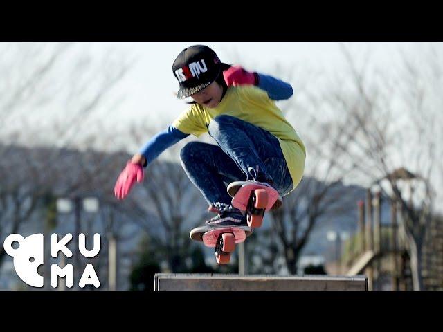 sportourism.id - Keren-Aksi-Bocah-13-Tahun-Mahir-Freeline-Skate