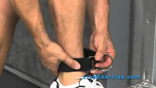 Bodylastics System Tip: How To Use Your Ankle Strap