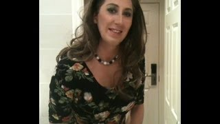 Transvestite / Tgirl At Shopping Centre Crossdressed