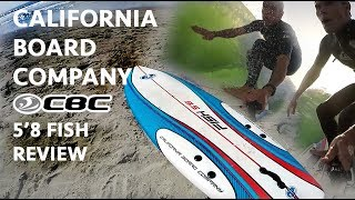 "Matthew Berry reviews the CBC 5'8"" Fish Surfboard"