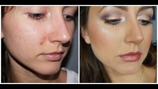 HOW TO: cover a scab | popped pimple | scar