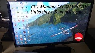 Tv monitor Lg 22MT48DF / DEMONSTRAÇÃO