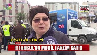 İstanbul'da Mobil Tanzim Satış