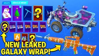 *NEW* Leaked Fortnite Galaxy Wrap...!! (Fortnite Weapon Skin Concepts)