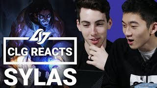 CLG REACTS | Sylas The Unshackled Champion Trailer - League of Legends