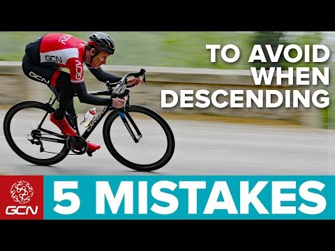 5 Cycling Descending Mistakes To Avoid   GCN Pro Tips