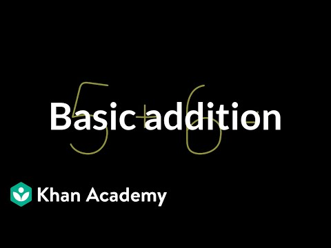 Basic Addition | Arithmetic (video) | Khan Academy