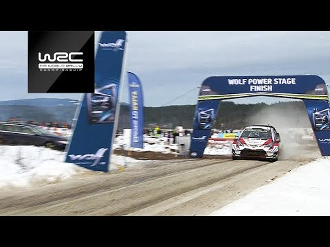 WRC - Rally Sweden 2019: RECAP Wolf Power Stage