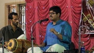 Carnatic vocal concert by Jayakrishnan