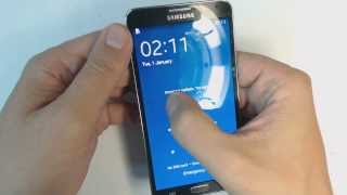 Samsung Galaxy Note 3 N9005 - How to remove pattern lock by hard reset