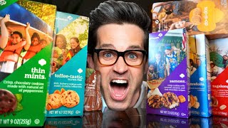 We Tried EVERY Girl Scout Cookie (Taste Test)