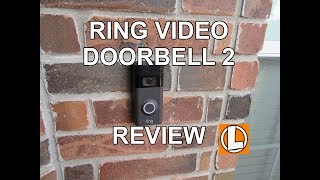 Ring Video Doorbell 2 Review - Unboxing, Setup, Installation, Video Footage