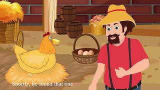 The Golden Egg    Moral Story    Think Before You Act