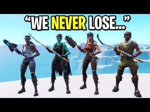 Video We Created The Rarest Fortnite Skin Squad Ever And This