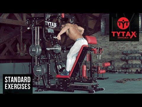 Lever Bent-Over Wide-Grip Row | TYTAX® M2