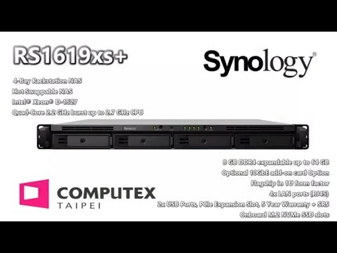 Synology RS1619xs+4-Bay Rackmount POWERHOUSE NAS - Update on Hardware