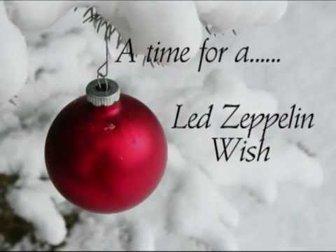 A Christmas Led Zeppelin Wish.....by Rick Mercer