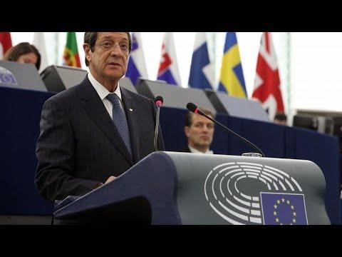 Ν.Αναστασιάδης στο Ευρωκοινοβούλιο: Η Ευρώπη έχει καθήκον να συμβάλει στην επίλυση του Κυπριακού…