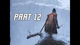 SEKIRO SHADOWS DIE TWICE Walkthrough Part 12 - Sunken Valley (Let's Play Commentary)