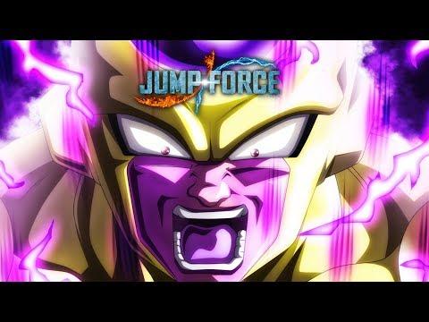 JUMP Force - SSB Goku, Vegeta & Golden Frieza Gameplay Trailer (2018)