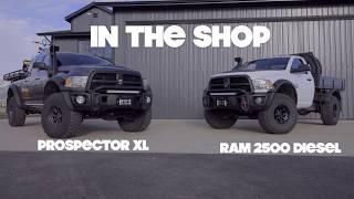 """In The Shop"" 03 : Dave Harriton's AEV Prospector Walk Around"