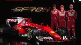 F1 2017   The Launch of the Ferrari SF70H