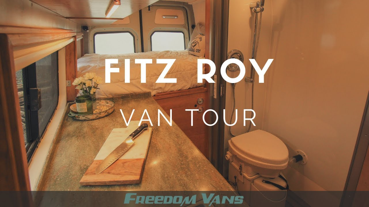 Sprinter Van Conversion With Bathroom TOUR