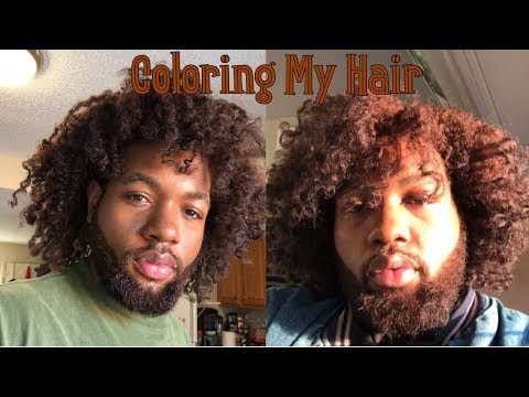 Dyeing My Natural Hair Caramel Brown Using Creme Of Nature Experience