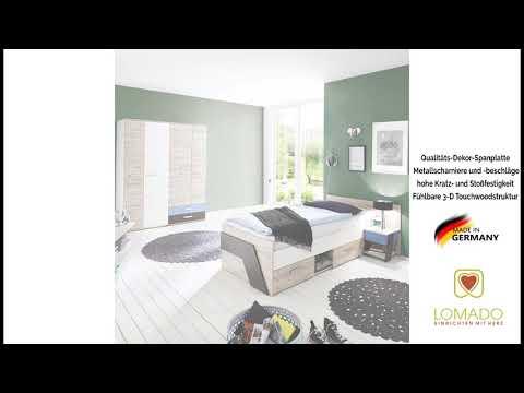 Jugendzimmer Möbel Set LEEDS 10