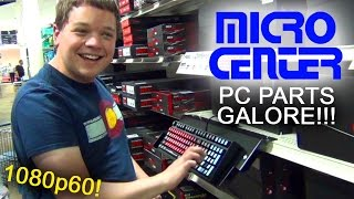 A Day at the Micro Center!