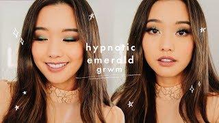Emerald Eyes GRWM + New Pat Mcgrath Collection 🧚🏻♀️