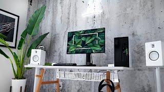 My Minimal Home Office Desk Setup!