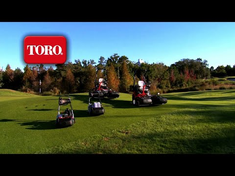 Toro® Greensmaster® Lineup