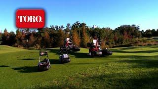 Toro Greensmaster Lineup