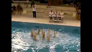preview picture of video 'Equipe AQUA & SYNCRO 66 - N3 Juniors ISTRES 2015'