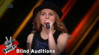 Τζίνα Σοφαδίτη - On my own   10o Blind Audition   The Voice of Greece