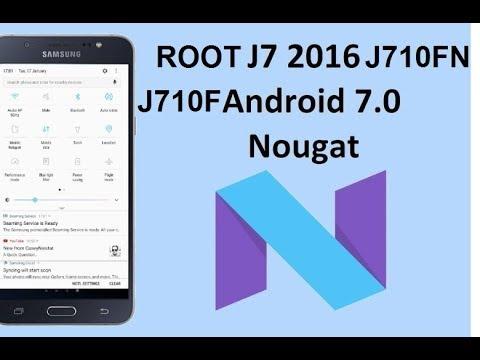 SAMSUNG J7 (SM-J710F) Root - تنزيل يوتيوب
