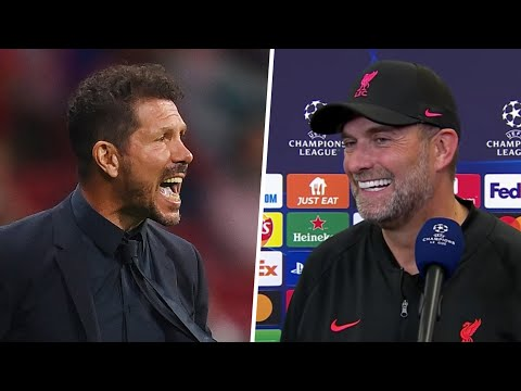 """""""I wanted to shake his hand but he was running off."""" Klopp on Simeone incident at full-time"""