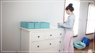 Setting Up & Organizing Our New Dressers • Jan. 31, 2018