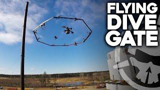 Flying Dive Gate!!