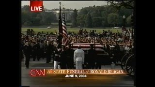 State funeral of Ronald Reagan CNN live coverage 6-9-2004
