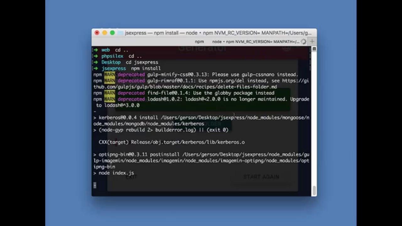 RAML JS WebService Generator DEMO