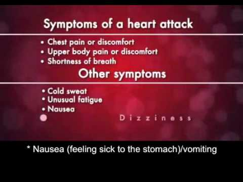 , title : 'Heart Attack Warning Symptoms'