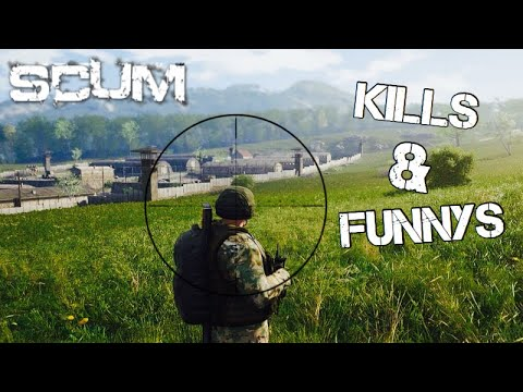 SCUM | A Compilation of Kills & Funny Moments | SCUM Diaries
