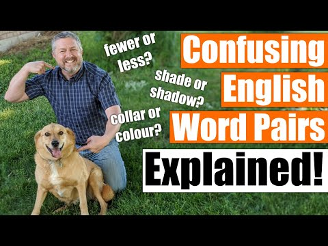 Fewer or Less? Bored or Boring? An English Lesson on Confusing Word Pairs!