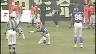 1991甲子園ボウル関学対専修第3Q