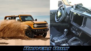 2021 Ford Bronco - Complete Look At Leaked Interior And Exterior
