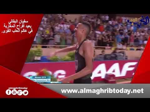 العرب اليوم - شاهد: سفيان البقالي يعيد أفراح المغاربة في عالم ألعاب القوى