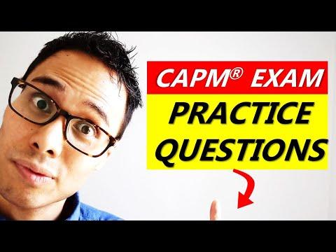 PRACTICE THESE CAPM EXAM QUESTIONS | CAPM EXAM PREP ...